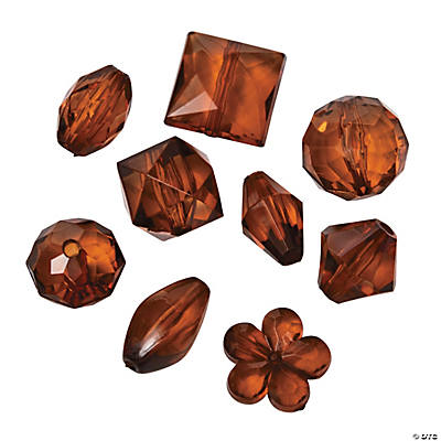 Brown Bead Assortment - 12mm - 15mm