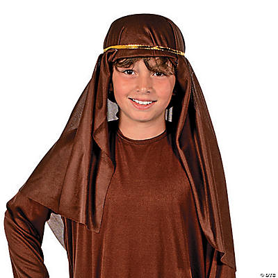 Brown Nativity Hat