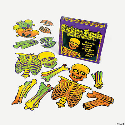 Build A Skeleton Race Game