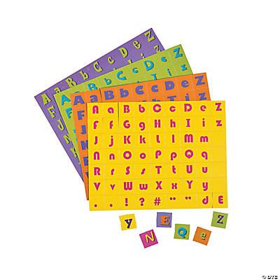 Bulk alphabet letter squares for Bulk letters