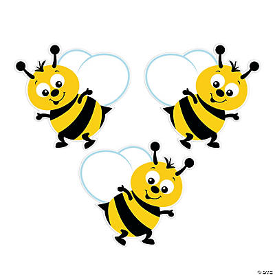 Quickview Image Of Bulletin Board Bumblebee Cutouts With Sku13742031