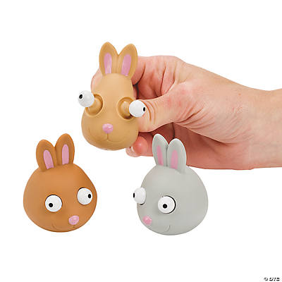 Bunnies with Pop-Out Eyes