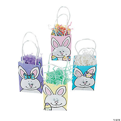 Bunny Mini Bags with Wiggle Eyes