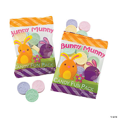 """Bunny Munny"" Easter Candy Fun Packs"