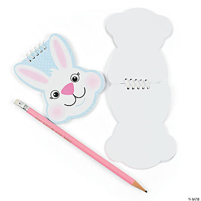Bunny Spiral Notepads