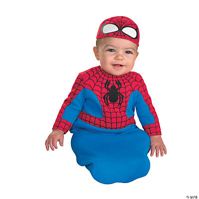 Bunting Boy's Spiderman Costume for Infants