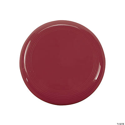 Burgundy Mini Flying Discs