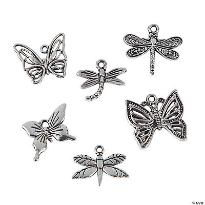 Butterfly & Dragonfly Charms