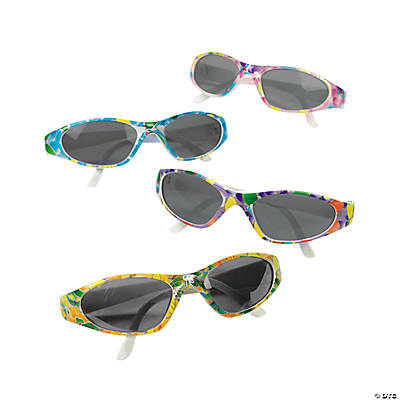 Butterfly Print Sunglasses