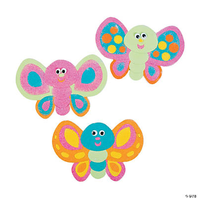 Butterfly Sand Art Magnets