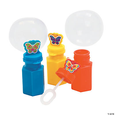 Butterfly-Shaped Bubble Bottles