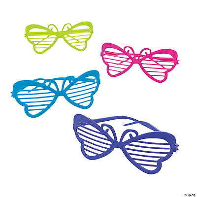 Butterfly Shutter Shading Glasses