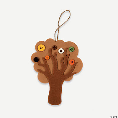 Button Fall Tree Craft Kit