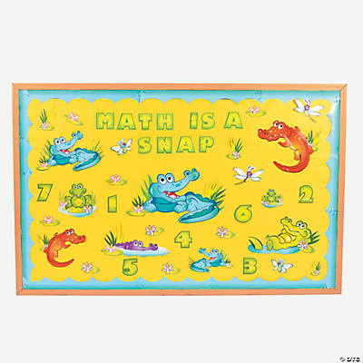 Cajun Crocodile Bulletin Board Set
