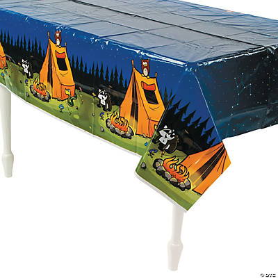 Camp Adventure Tablecloth