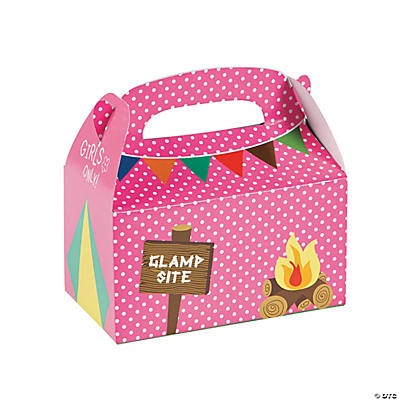 Camp Glam Favor Boxes