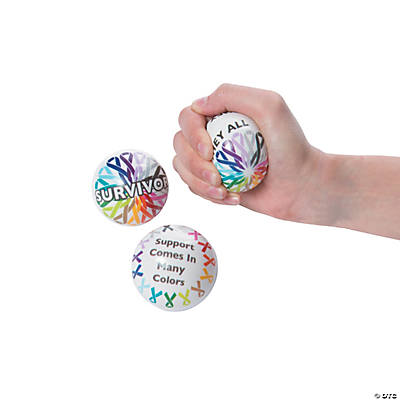 Cancer Awareness Stress Balls