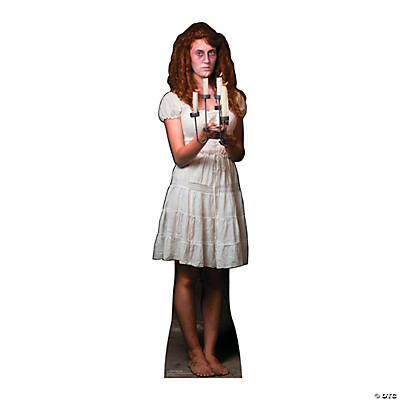 Candle Stick Lady Cardboard Stand-Up