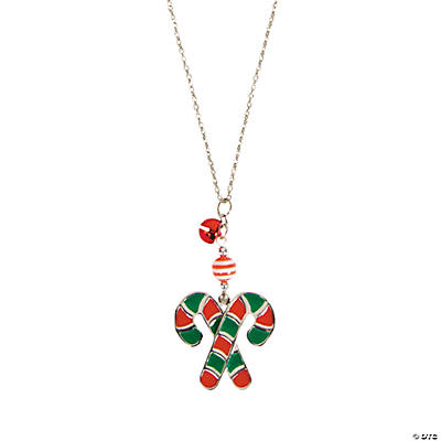 Candy Cane Necklaces