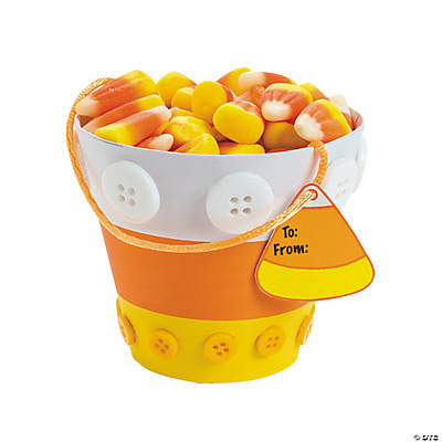 Candy Corn Cup Treat Holder Craft Kit