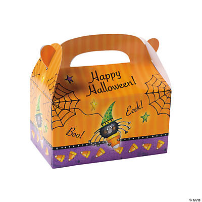Candy Corn Spider Favor Boxes