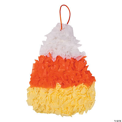 Candy Corn Tissue Paper Craft Kit