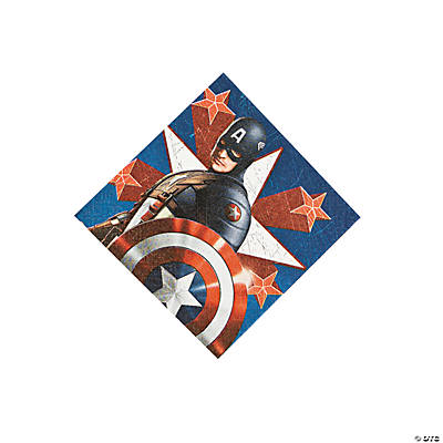 Captain America™ the First Avenger Beverage Napkins