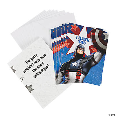 "Captain America™ the First Avenger ""Thank You"" Notes"
