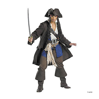 Captain Jack Sparrow™ Pirates of the Caribbean Adult Men's Costume