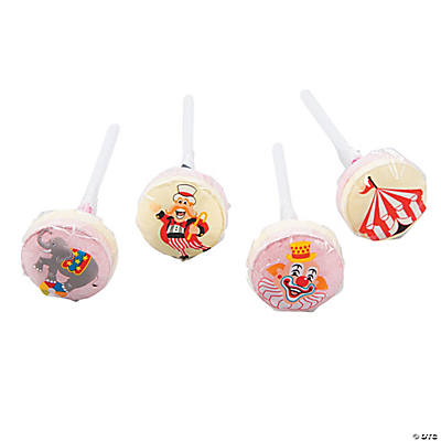 Carnival Printed Lollipops