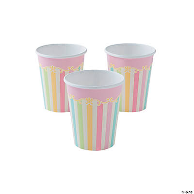 Carousel Baby Shower Paper Cups