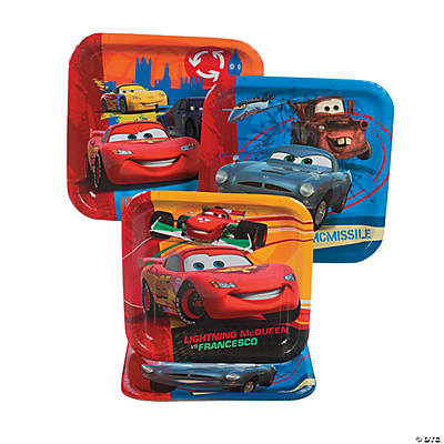 Cars 2® Square Dinner Plates
