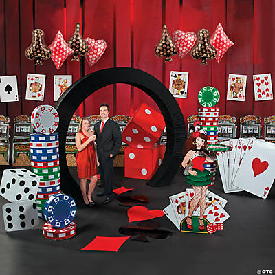 casino night grand dcor kit - Casino Party Decorations