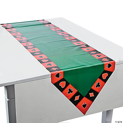 Casino Table Runner