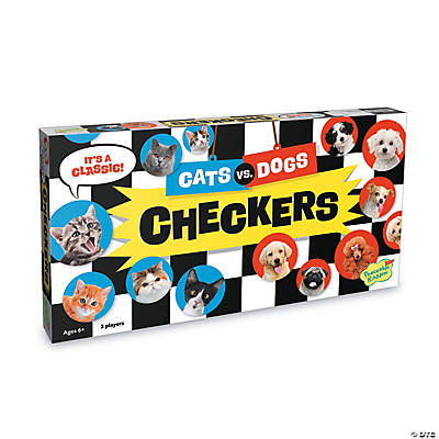 Cats Vs Dogs Checkers