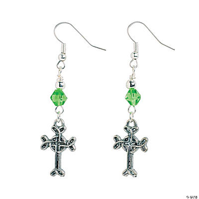 Celtic Cross Earrings Craft Kit