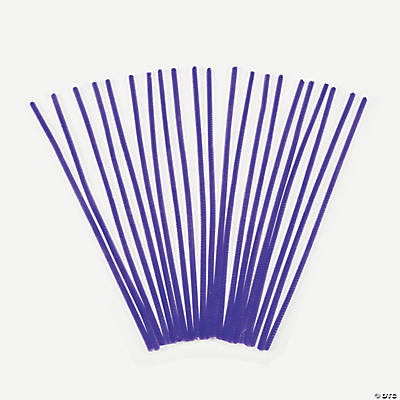 Chenille Stems - Purple