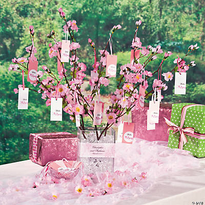 Cherry blossom wishing tree idea for Wish decoration