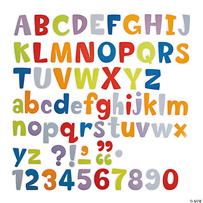 Chevron bulletin board letters for Letters for bulletin boards templates