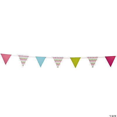 Chevron Pattern Fashion Pennant Banner