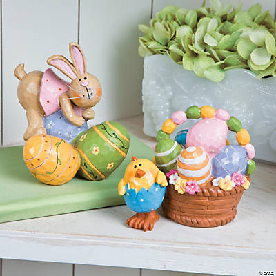 Chick & Bunny Easter Tabletoppers