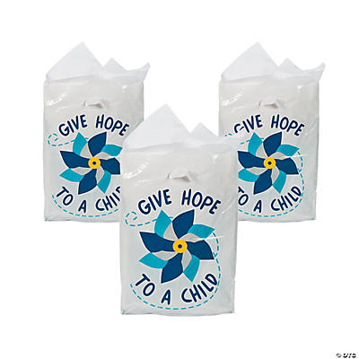 Child Abuse Awareness Favor Bags