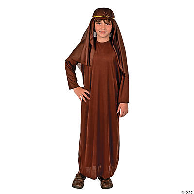 Child Brown Nativity Gown