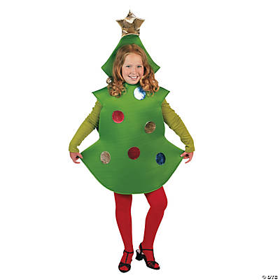 Child Christmas Tree Costume