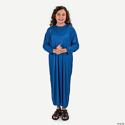 Child Dark Blue Nativity Gown