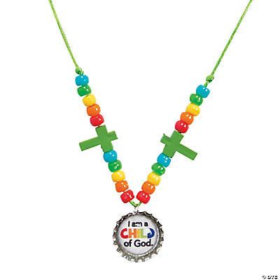 Child of god necklace craft kit for Necklace crafts for kids