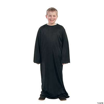 Child's Large Black Nativity Gown