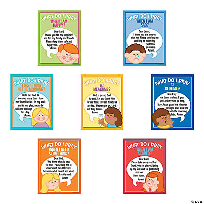 Children's Prayer Posters