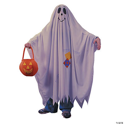 Child's Friendly Ghost Costume