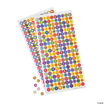 Child's Mini Bottle Cap Stickers